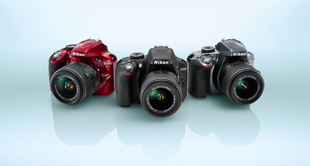 Nikon-D3300-red-black-grey