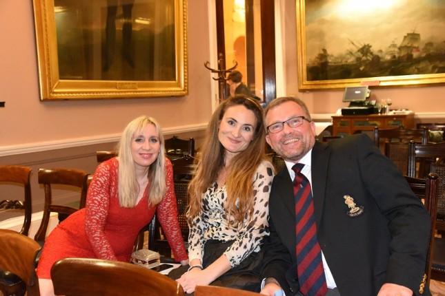 Nikon Owner Magazine's Christmas Dinner: Debbie Hughes, Christina Eleftheriades, Steve Hughes