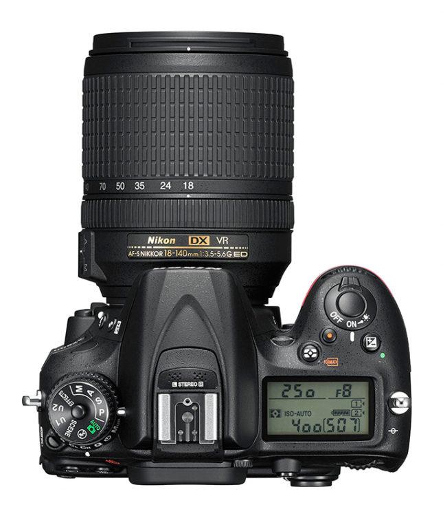 Nikon-D7200-DSLR-top
