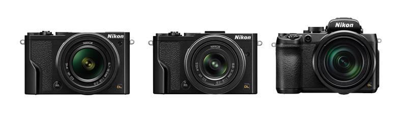 Nikon DL Camera Range