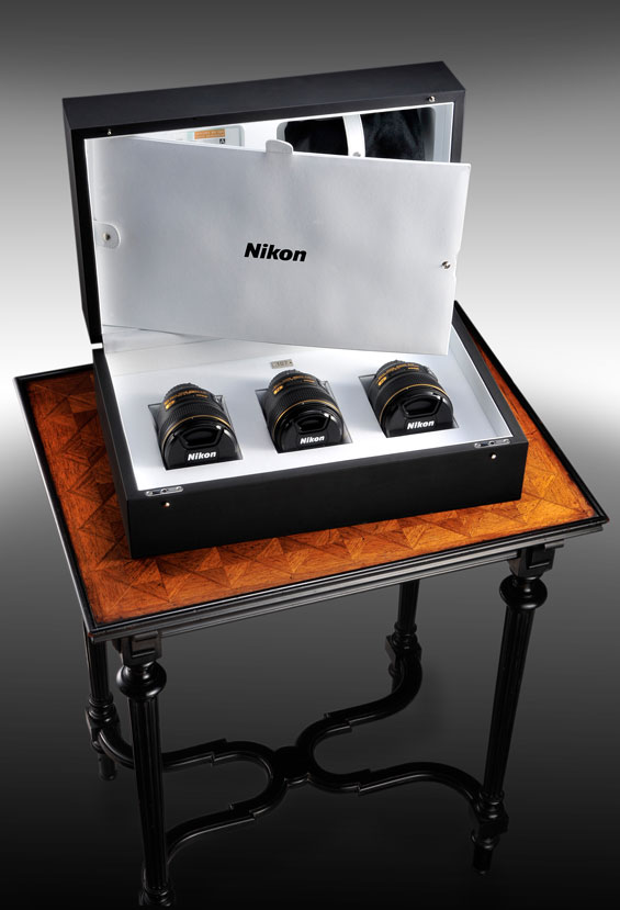 Nikkor lens f/1.4 Limited Edition Display Case